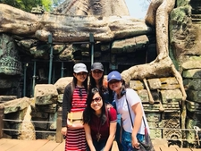 My Customers Had A Nice Photo At Ta Prohm Temple, Siem Reap, Cambodia.