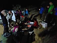 Cooking At Camp Mount Abu