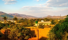 View Of Chipata, The Largest City In The Province