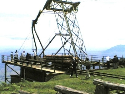 Cable Yarding System At Shume