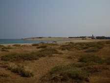 A Red Sea Beach At Wadi El Gamal