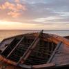 Sunset On The Beach At Ilha Do Ibo