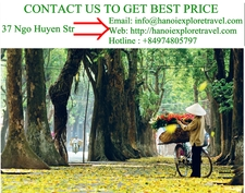 Contact Hanoi Explore Travel Agency