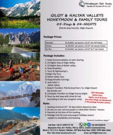 05 Days 04 Nights Gilgit Honeymoon Tours