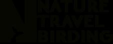 Birding Logo Black Transparent Background