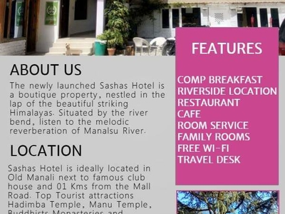 Sashas Boutique Rooms And Cafe