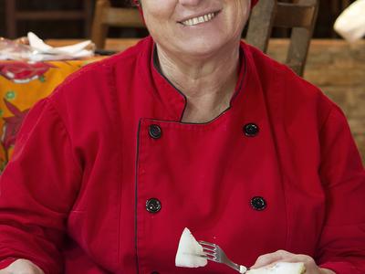 A Chef Zélia Paralego