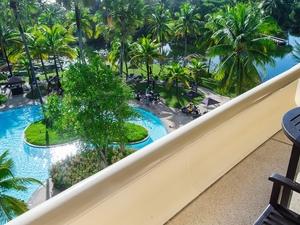 Hilton Phuket Arcadia Resort And Spa Deluxe Garden View Bedroom Terrace Garden View Detail