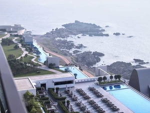 Hilton Busan Outdoor Pool