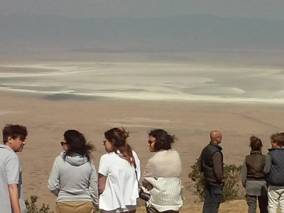 Clients At Ngorongoro Craters View Point