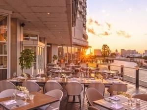Hilton Tokyo Odaiba Seascape Terrace Dining