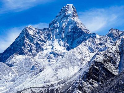 View Of Mt. Ama Dablam - Everest Base Camp Trek