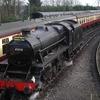 LMS Stanier Class 5 4-6-0 At Bridgnorth Railway Station
