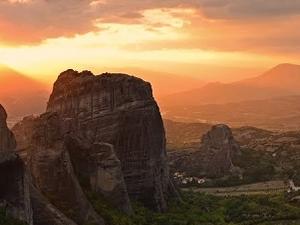 Sunset Meteora Tour Fotos
