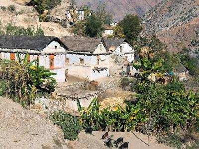 Aambhanjyang Village In Western Nepal