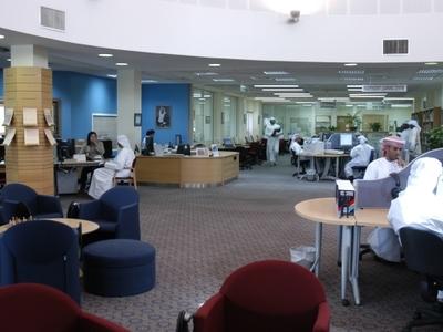Library At Al Ain Men\\\'s College