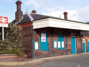 Abergele Pensarn la estación de tren