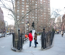 Abingdon Square Park South Gate