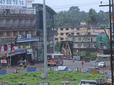 A Birds Eye View Of Kasaragod Town