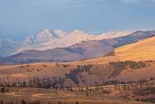 Absaroka Mountains In Montana