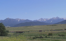 Absaroka Range - Yellowstone - USA