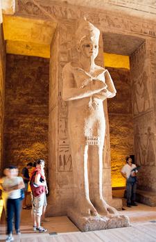 Ramesses As Osiris