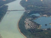 Corrientes descendentes teclas Danubio Power Station