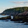 Acadia National Park Coastline Towards Otter Cliffs In Maine