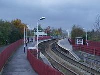 Accrington la estación de tren