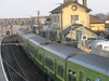 DART Train At Greystones Station