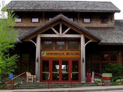 Adirondack  Museum Entrance