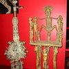 A Display Of African Metalwork Art