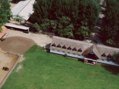 Aerial Photography Of Bugac Town, Hungary