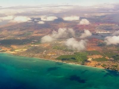 Aerial Photo Of The Ewa Beach Area Of Oahu