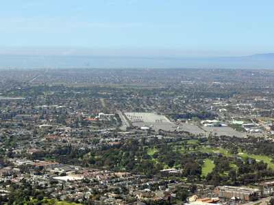 Aerial View Of Costa Mesa