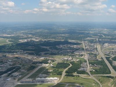 Aerial View Of Fairborn