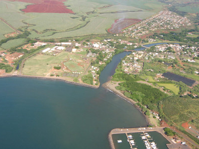 Aerial View Of Hanapepe