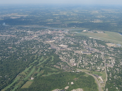 Aerial View Of Middletown