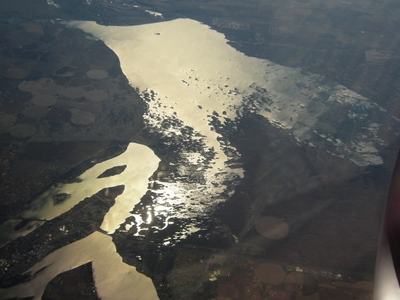 Aerial View Of Moses Lake Amp Potholes Reservoir