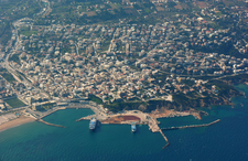 Aerial View Of Rafina Harbour