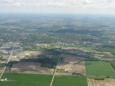 Aerial View Of Tiffin From The West
