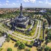 Aeria View Of Bajra Sandhi Monument Denpasar Bali Indonesia