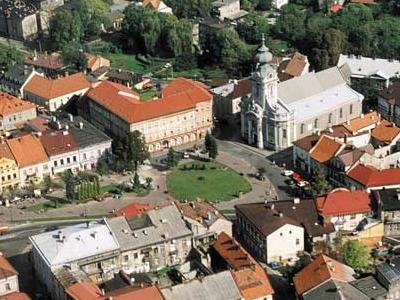 Main Square Of Wadowice