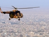 Afghan National Air Force Flying Over The City