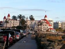 A Full View Of The Hotel Coronado