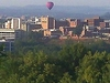 A Fun Fest Balloon Floats Over Kingsport Tennessee
