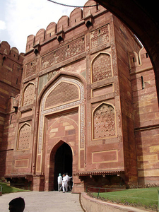 Amar Singh Gate, Agra's Red Fort