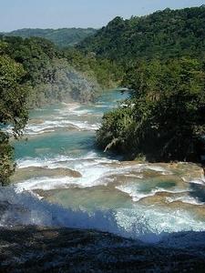 Agua Azul Afterflow - Chiapas