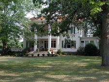 A Home Along Elbertons Heard Street.