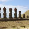 Ahu Nau Nau - Easter Island - Chile